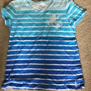 Talbots top with sequin octopus